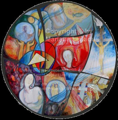 Ikone: Kunstwerk von Mariana Lepadus